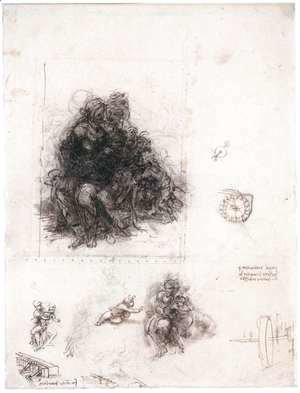 Study for the Burlington House Cartoon