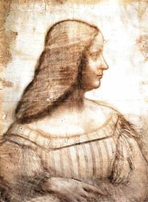 Leonardo Da Vinci - Isabella d'Este