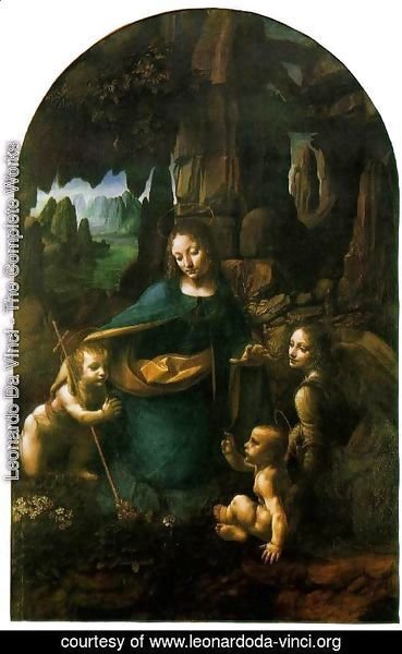 Leonardo Da Vinci - Virgin of the Rocks