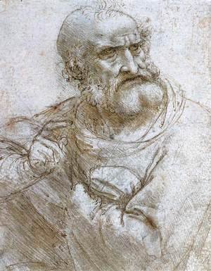 Leonardo Da Vinci - Study for the Last Supper 2