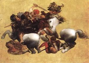Leonardo Da Vinci - Battle of Anghiari