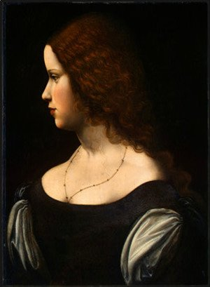 Leonardo Da Vinci - Portrait of a Young Lady