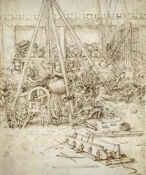 Leonardo Da Vinci - Artillery