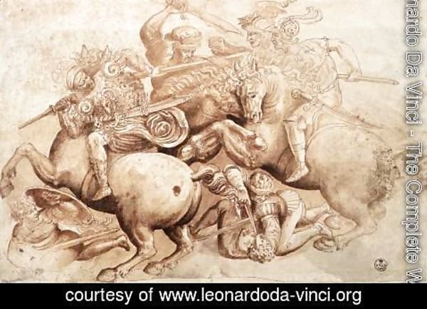 Leonardo Da Vinci - battle2