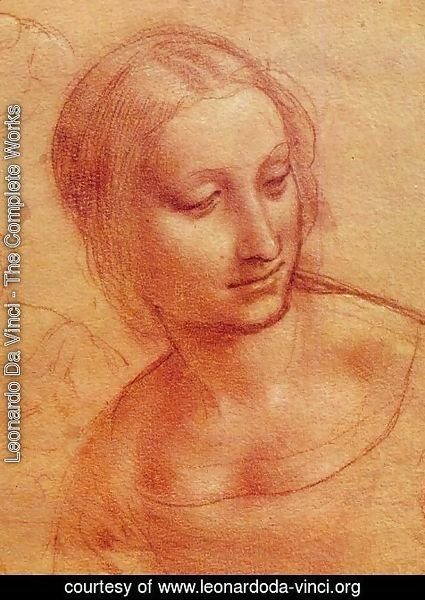 Leonardo Da Vinci - Head of a Woman 1510-11