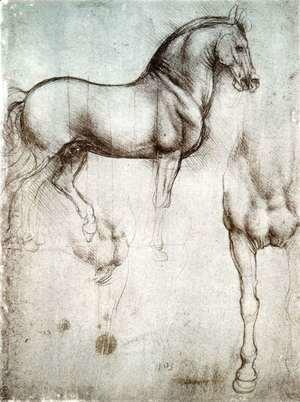 Leonardo Da Vinci - horse3