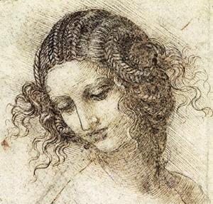 Leonardo Da Vinci - Leda draw