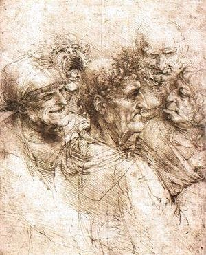 Leonardo Da Vinci - oldmen