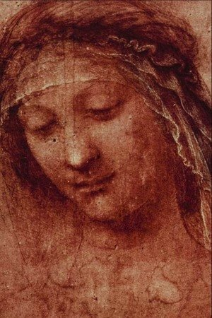 Leonardo Da Vinci - Study of a Woman's Head 2