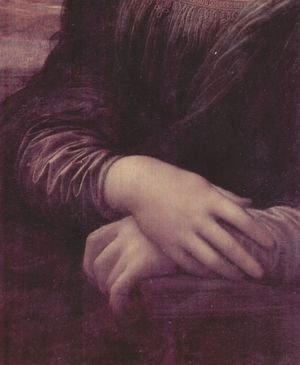 Leonardo Da Vinci - Mona Lisa (detail) 2