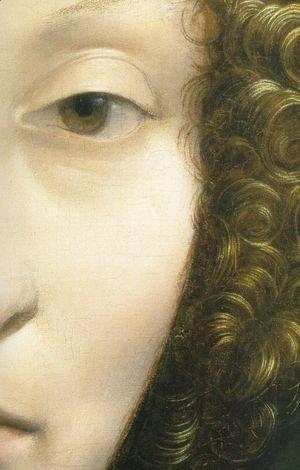 Leonardo Da Vinci - Portrait of Ginevra Benci (detail2)