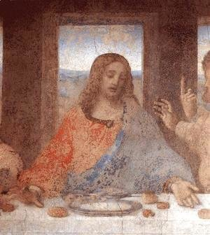 Leonardo Da Vinci - The Last Supper (detail2)