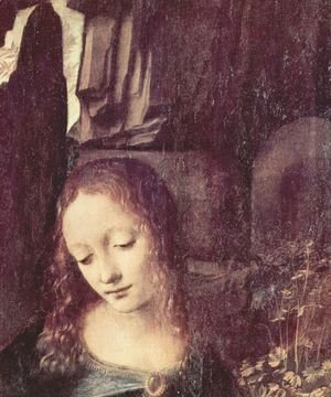 Leonardo Da Vinci - Virgin of the Rocks (detail) 5