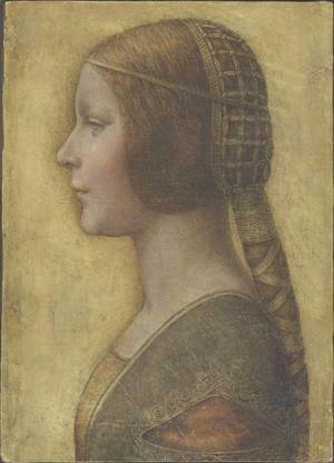 Leonardo Da Vinci - Profile of the Bella Principessa