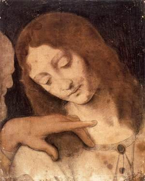 Leonardo Da Vinci - Head of St John the Evangelist