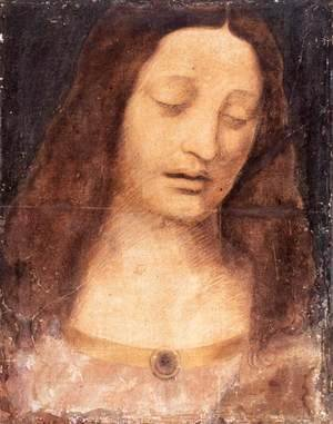 Leonardo Da Vinci - Head of Christ 2