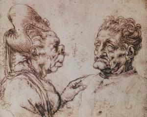 Leonardo Da Vinci - Caricature