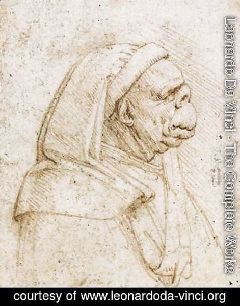 Leonardo Da Vinci The Complete Works Caricature 2