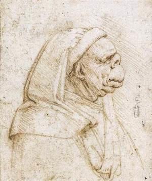 Leonardo Da Vinci - Caricature 2