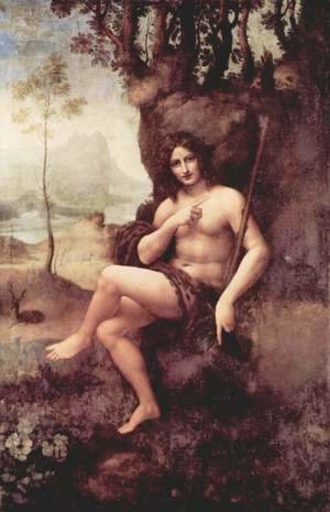 Leonardo Da Vinci - Bachus