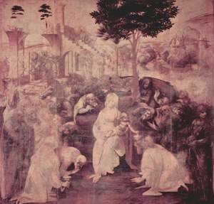 Leonardo Da Vinci - The Adoration of the Magi