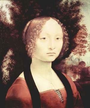 Leonardo Da Vinci - Portrait of a noblewoman