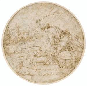 Leonardo Da Vinci - The Ermine Hunt