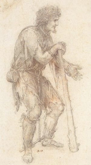 Leonardo Da Vinci - Masquerader in the guise of a Prisoner.jpg