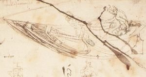 Leonardo Da Vinci - Designs for a Boat