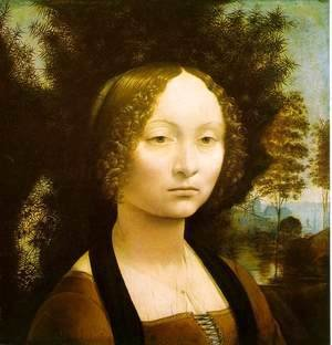 Portrait of Ginevra de' Benci 1474-46