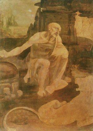 Leonardo Da Vinci - St Jerome c. 1480