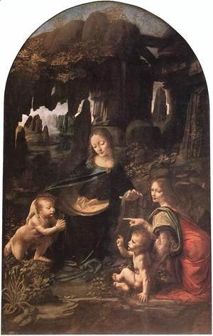 Leonardo Da Vinci - Virgin of the Rocks 1483-86