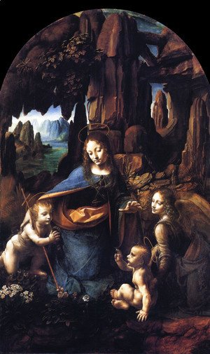Leonardo Da Vinci - Virgin of the Rocks 1495-1508