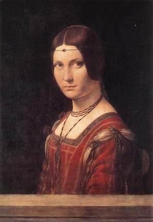 Leonardo Da Vinci - La belle Ferroniere c. 1490