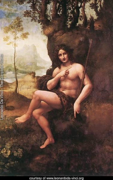 St John in the Wilderness (Bacchus) 1510-15