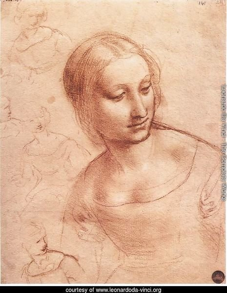 Study For Madonna With The Yarnwinder