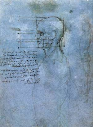 Leonardo Da Vinci - Study Of Proportion