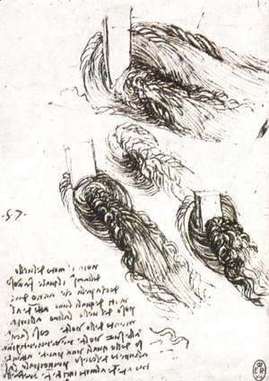 Leonardo Da Vinci - Study Of Water