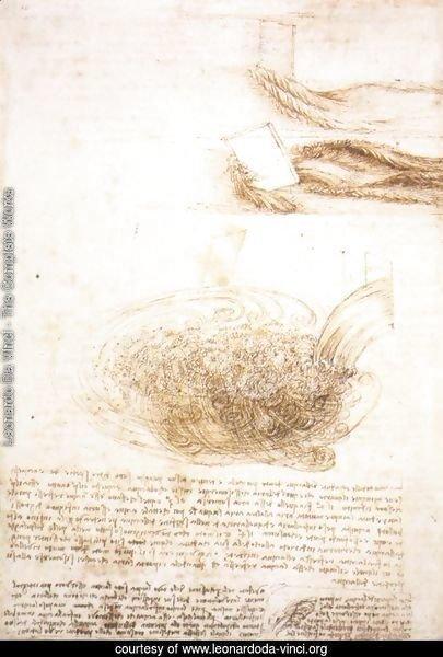 Leonardo Da Vinci - The Complete Works - Studies Of Water ...