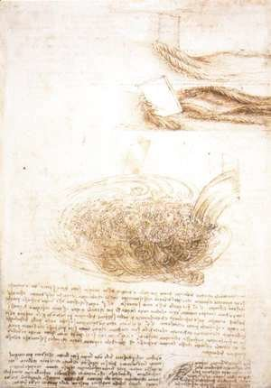 Leonardo Da Vinci - The Complete Works - Study Of Water ...