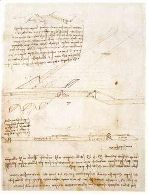 Leonardo Da Vinci - Canal Bridge