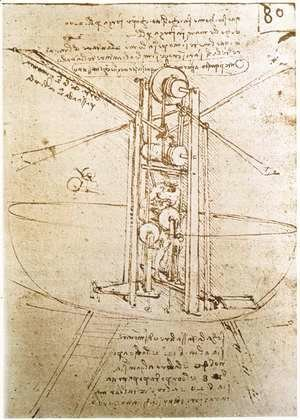 Leonardo Da Vinci - Flying Machine