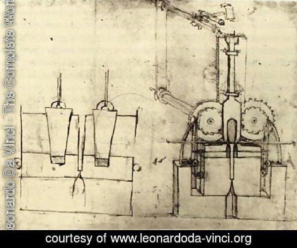 Leonardo Da Vinci - The Complete Works - Device For Making ...