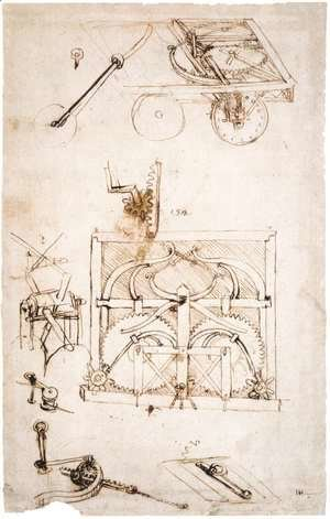 Leonardo Da Vinci - Automobile