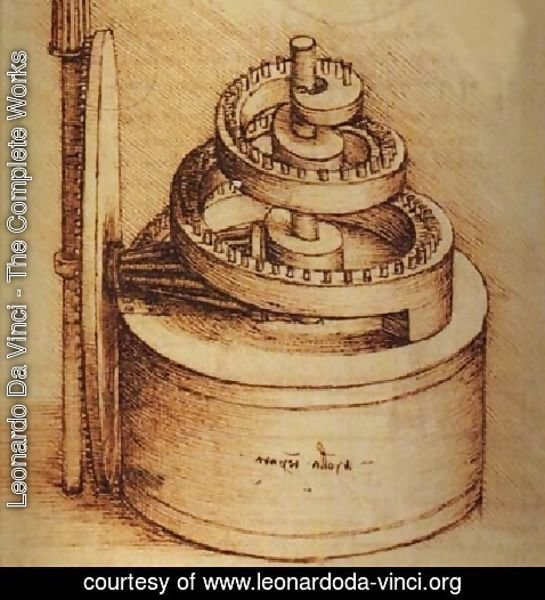 Leonardo Da Vinci - The Complete Works - Spring Device ...