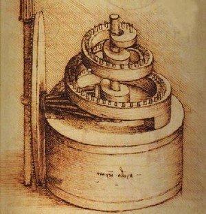 Leonardo Da Vinci - Spring Device