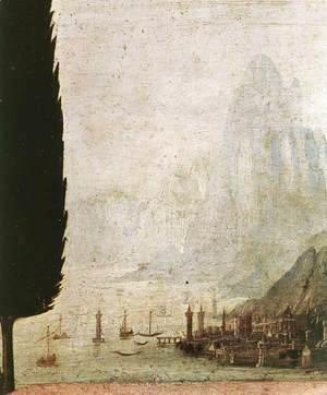 Leonardo Da Vinci - Annunciation (detail 4) 1472-75