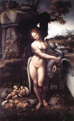 Leonardo Da Vinci - Leda 1508-15