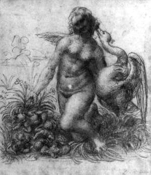 Leonardo Da Vinci - Leda and the Swan 1503-07