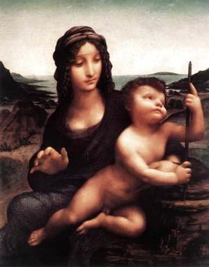 Leonardo Da Vinci - Madonna with the Yarnwinder after 1510